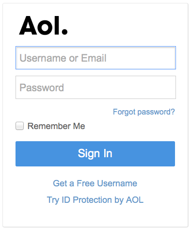 aol de email login