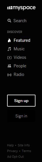 Myspace Konto erstellen