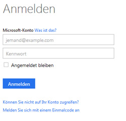 Live Email Anmelden