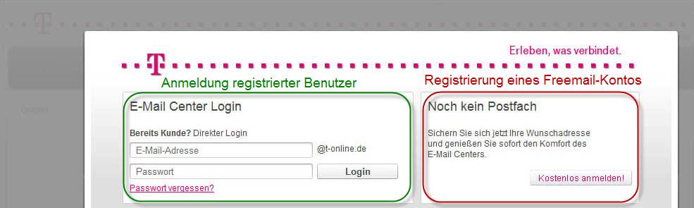 T-Online login