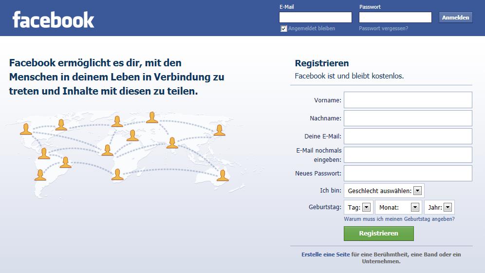 seite facebook login www com facebook