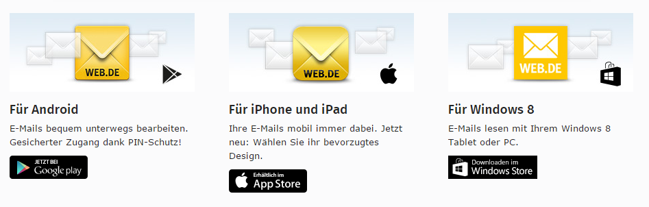 Freemail.de Mobile
