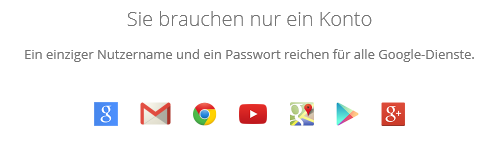 Google+ Konto