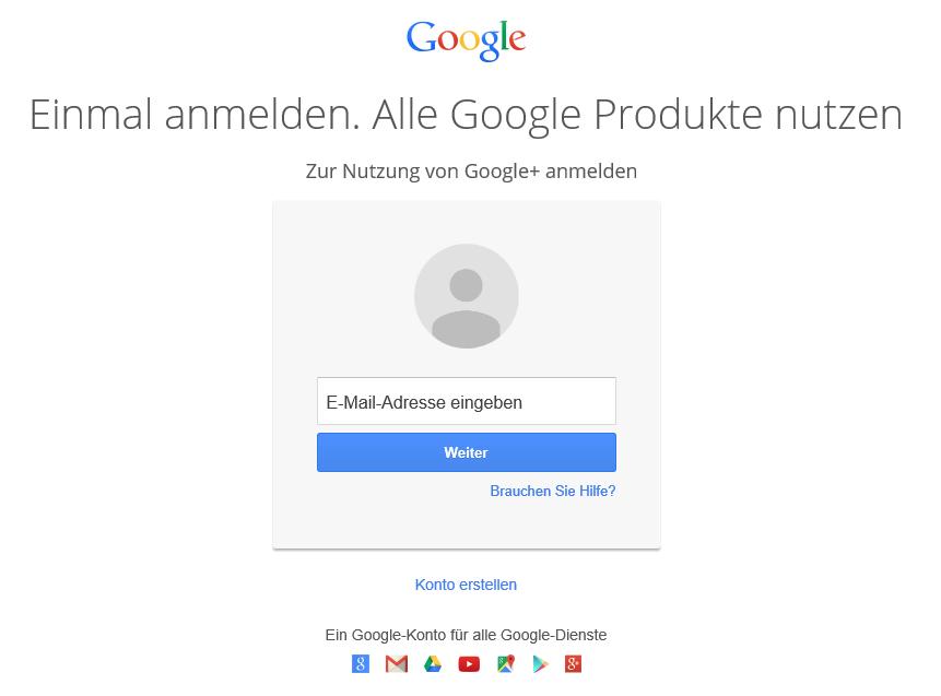 Google+ Netzwerk startpage