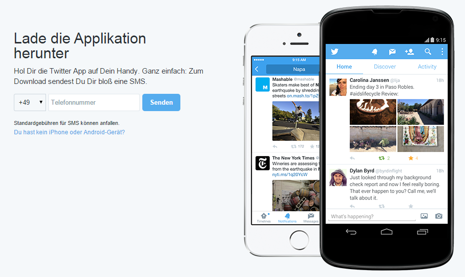 Twitter Login Mobile