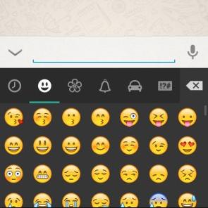 WhatsApp Nachrichten Emoticons