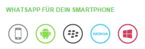 WhatsApp Nachrichten MobileApp