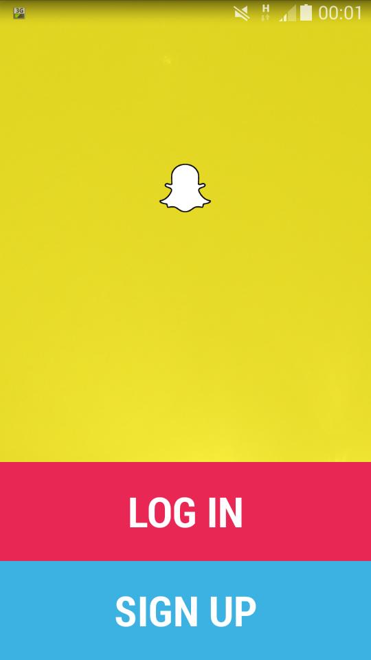 Snapchat Konto
